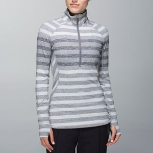 Lululemon Race Your Pace 1/2 Zip Pullover Top NWT